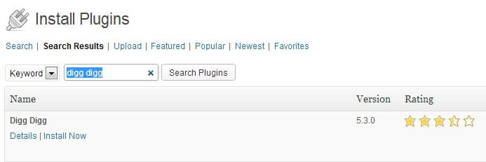 Digg Digg WordPress Plugin